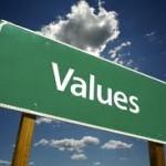 Values Roadsign